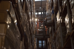 Extensive Pallet Storage